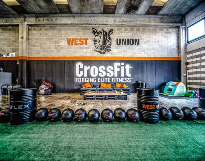 Area relax alla West Union CrossFit in provincia di Brescia