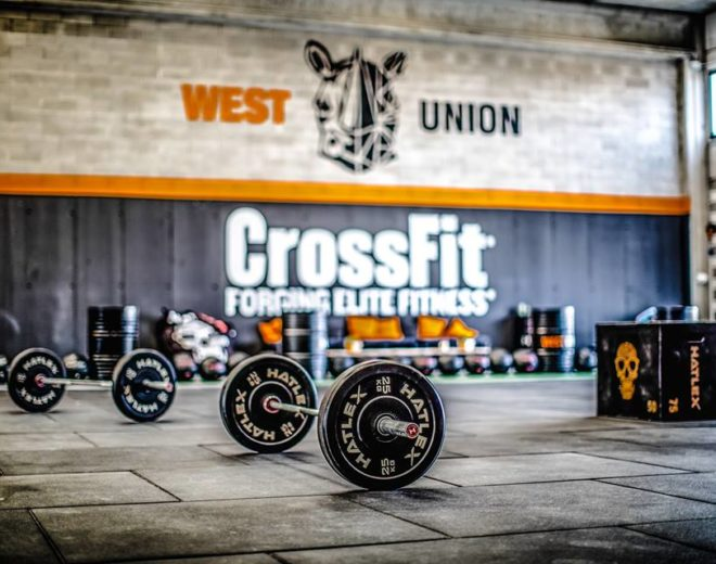 Panoramica del box di West Union Crossfit a Brescia