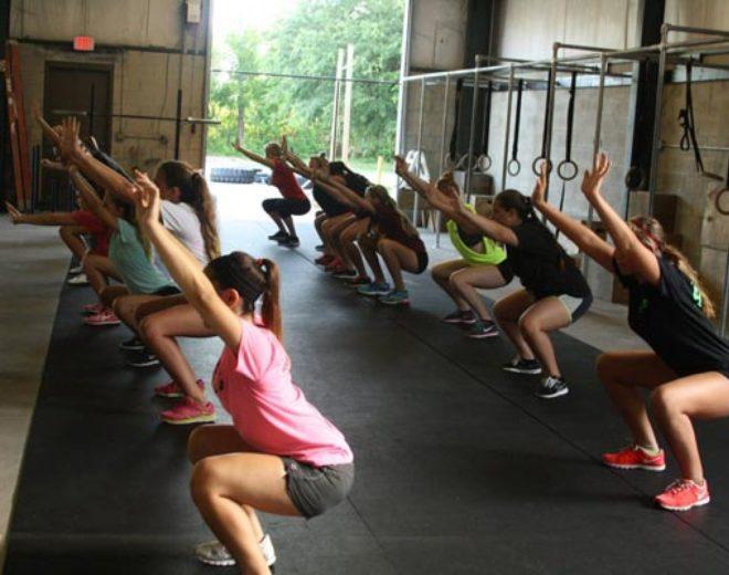 Corso di CrossFit per ragazzi e adolescenti