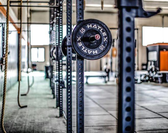 Particolare funi e pesi del box West Union CrossFit in provincia di Brescia